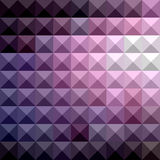 Russische Violet Abstract Low Polygon Background Royalty-vrije Stock Foto's