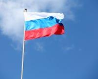 Russische vlag Royalty-vrije Stock Afbeeldingen