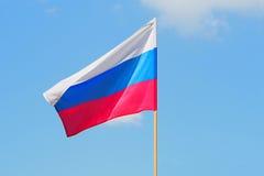 Russische vlag Royalty-vrije Stock Foto