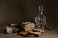 Russische Voedsel en Drank royalty-vrije stock afbeeldingen