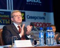Russische vroegere minister van financiën Kudrin Royalty-vrije Stock Foto's