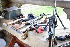 Russische wapens Stock Afbeeldingen