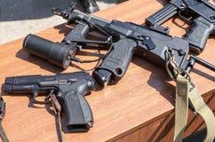 Russische wapens Royalty-vrije Stock Afbeeldingen
