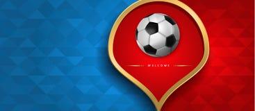 Russische Webbanner van speciaal sportevenement Royalty-vrije Stock Afbeelding