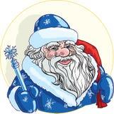 Russische Weihnachtszeichen Ded Moroz Stockfotos