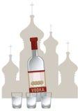 Russische Wodka Stock Fotografie