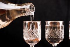 Russische wodka Royalty-vrije Stock Afbeeldingen