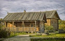 Russische woodhouse Stock Fotografie