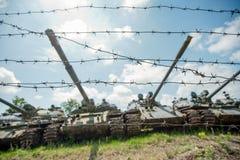 Russischer Behälter T-90 Stockfotografie