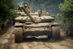 Russischer Behälter T-90 Stockfoto