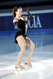 Russischer Eis-Schlittschuhläufer Irina Slutskaya stockbild