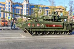 Russischer Hauptpanzer T14 Armata Lizenzfreies Stockfoto