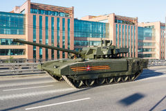 Russischer Hauptpanzer T14 Armata Stockfotografie