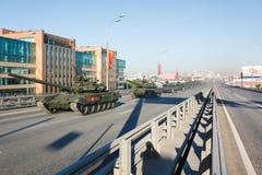 Russischer HauptT90 panzer Lizenzfreie Stockfotos