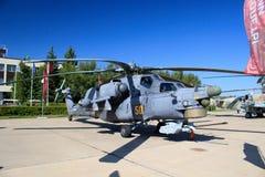 Russischer Hubschrauber MI 28 stockbild