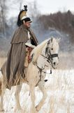 Russischer Kavalleriesoldat Lizenzfreie Stockfotografie