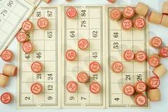 Russischer Lotto Stockfoto