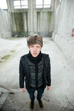 Russischer Mann im Durchgang Lizenzfreies Stockfoto