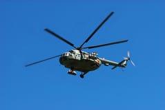 Russischer Militärhubschrauber stockfotografie