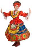 Russischer nationaler Tanz. Stockbild