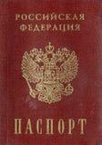 Russischer Pass Lizenzfreie Stockfotos