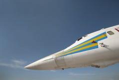 Russischer Raketenträger Stockbild