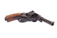 Russischer Revolver Nagant Stockfoto