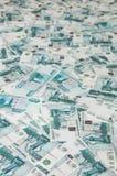 Russischer Rubel Lizenzfreies Stockbild