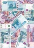 Russischer Rubel (Hintergrund) Stockbild