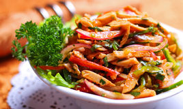 Russischer Salat Stockbild