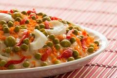 Russischer Salat Lizenzfreie Stockfotos