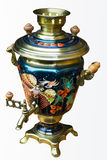 Russischer Samovar Stockfotos