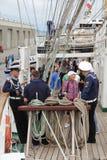 Russischer Seemann von der Fregatte Pallada Lizenzfreies Stockbild