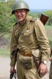 Russischer Soldat von WW2 Lizenzfreie Stockfotografie