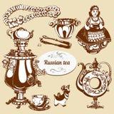 Russischer Teatime Lizenzfreie Stockfotos