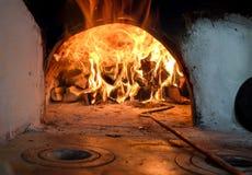 Russischer traditioneller Ofen Lizenzfreie Stockfotos