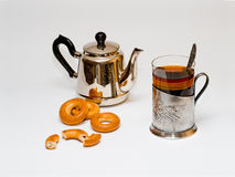 Russischer traditioneller Tee Stockfotografie