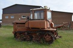 Russischer Traktor Lizenzfreie Stockfotografie