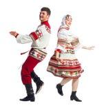 Russischer Volkstanz stockfoto