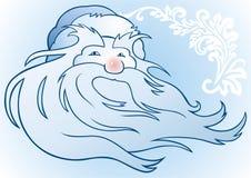 Russischer Weihnachtsmann Stockfotografie