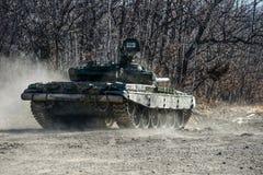 Russisches Becken T-72 Stockbild