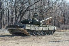 Russisches Becken T-72 Stockfoto