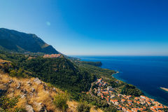 Russisches Dorf auf dem Berg in Montenegro Lizenzfreie Stockfotografie
