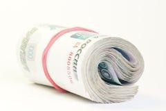 Russisches Geld Lizenzfreie Stockfotos