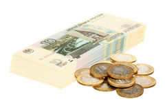 Russisches Geld Stockfoto