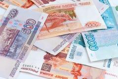 Russisches Geld lizenzfreies stockbild