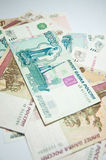 Russisches großes Geld Stockbild