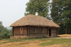 Russisches Holzhaus Stockbild