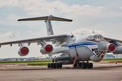 Russisches IL-76 Stockfoto