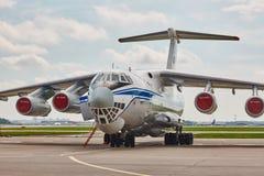 Russisches IL-76 Stockfotos